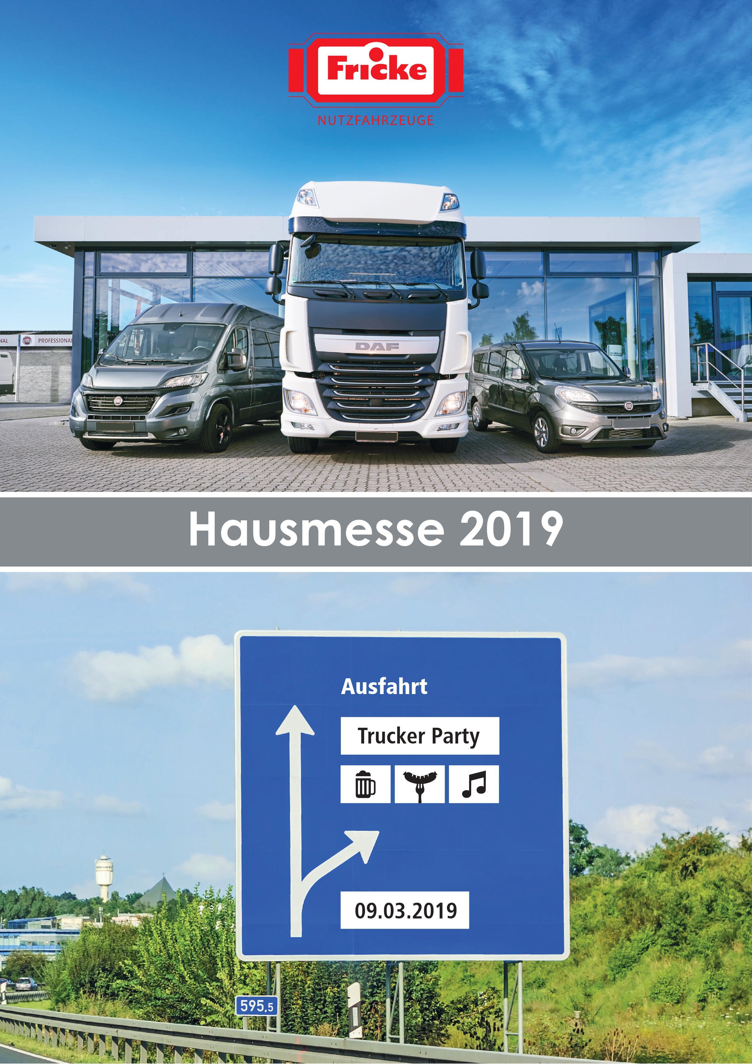 Hausmesse zur Heeslinger Landmaschinenschau 09./10.03.2019