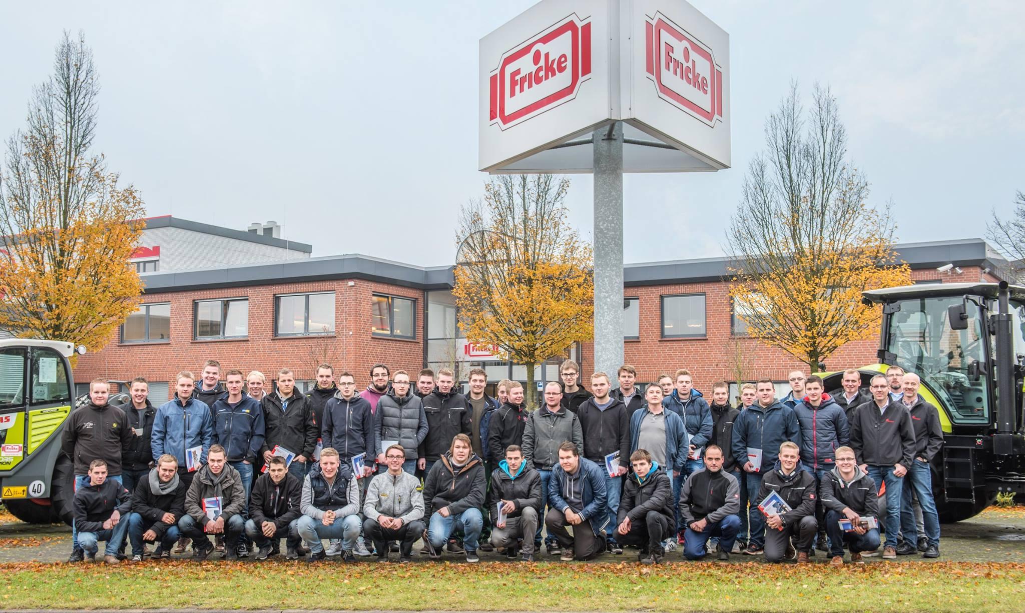 Berufsschüler des Kivinan Bildungszentrum zu Besuch in Heeslingen