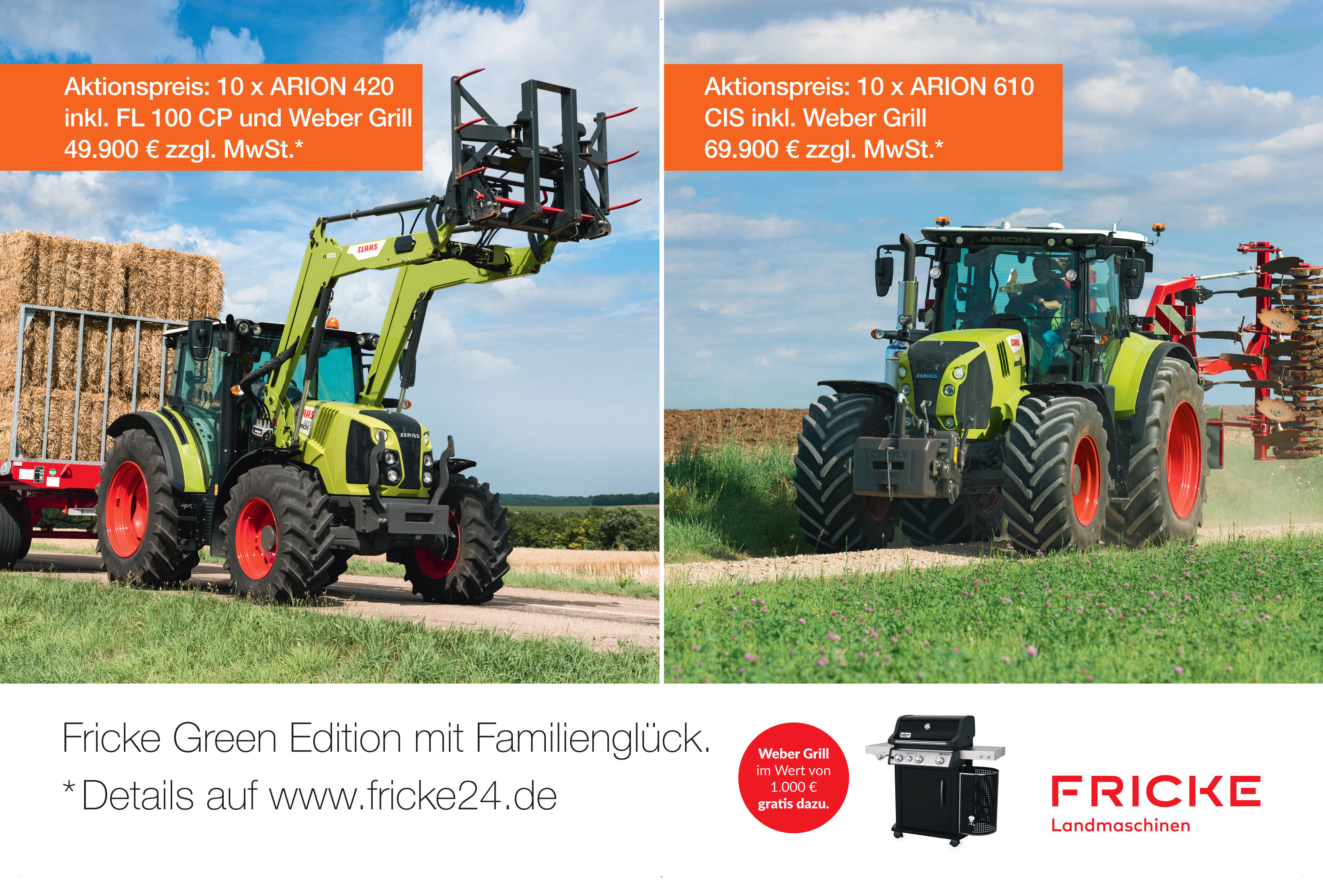 Fricke Green Edition mit Familienglück