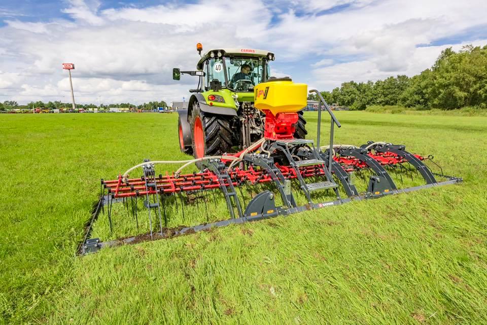 SAPHIR präsentiert neuen Grünlandstriegel GS603