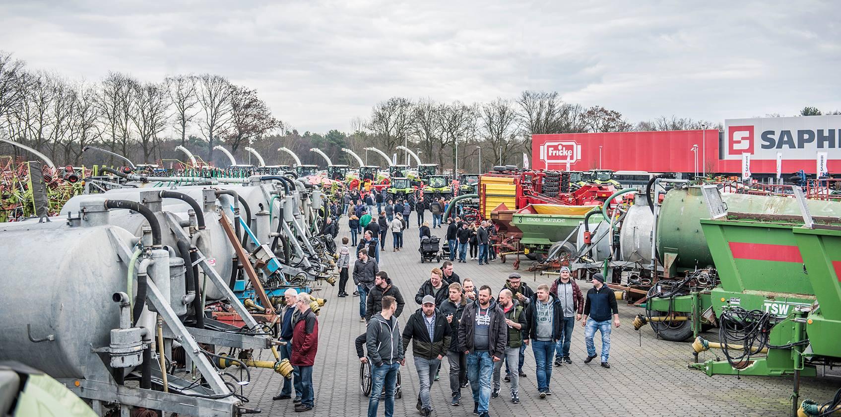 Die Gewinner der Losaktion im Rahmen der 53. Heeslinger Landmaschinenschau stehen fest!