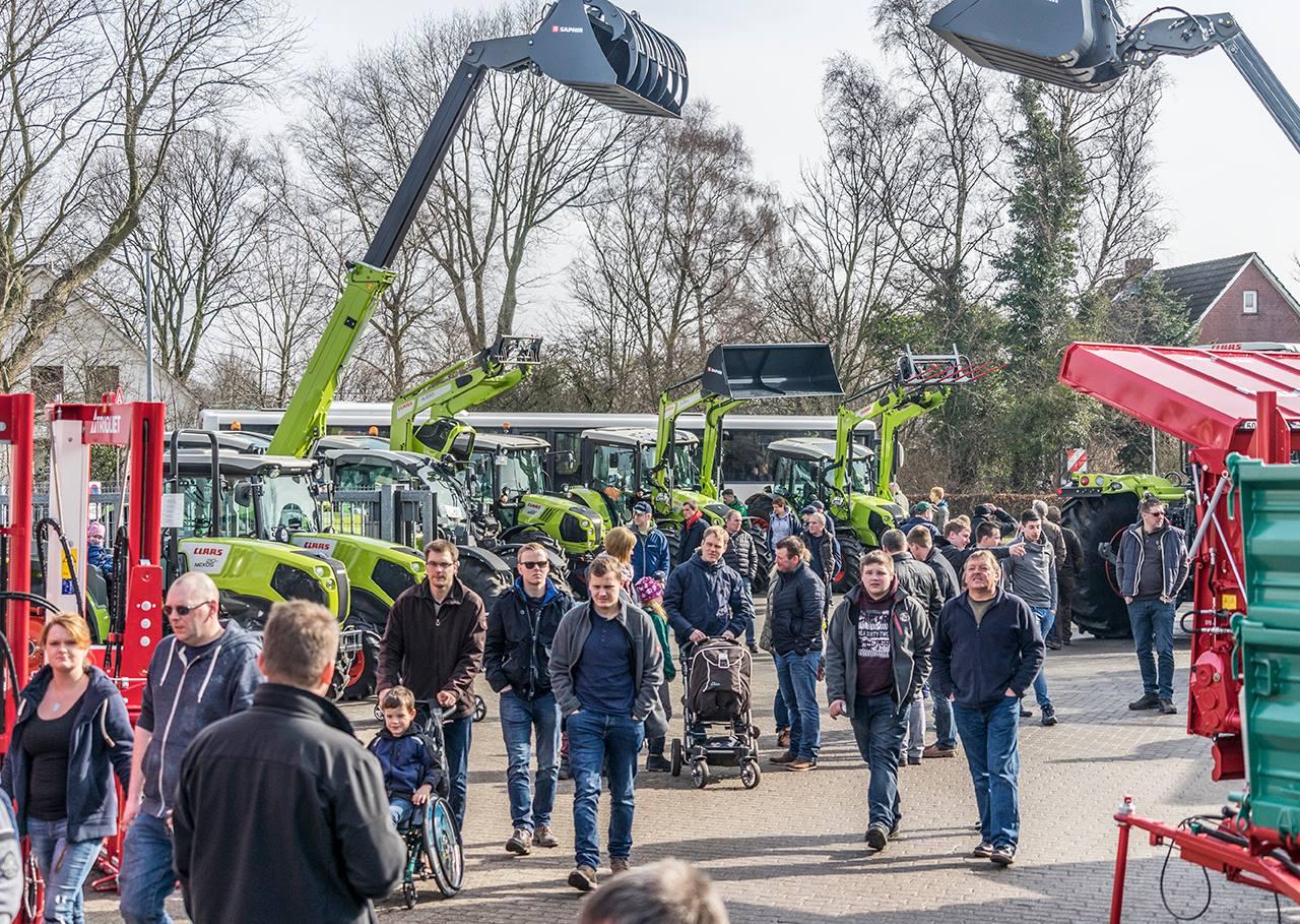 Heeslinger Landmaschinenschau erstmals an 2 Tagen: 9. & 10. März 2019