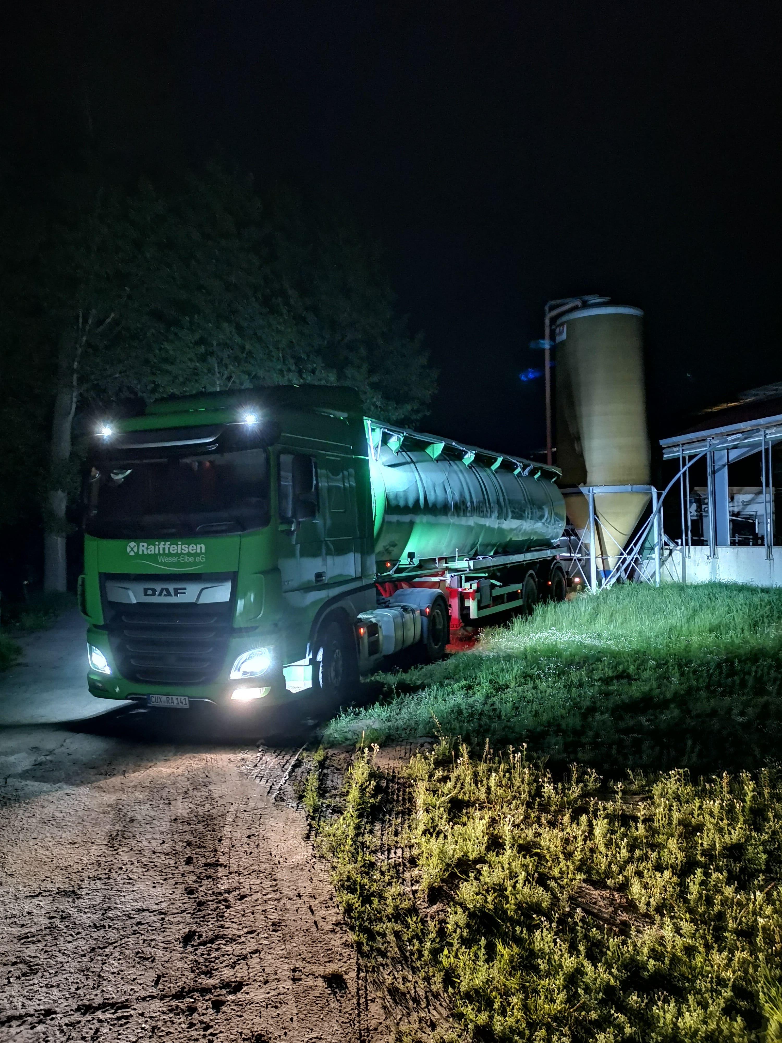 Auslieferung an die Raiffeisen Weser-Elbe e.G.