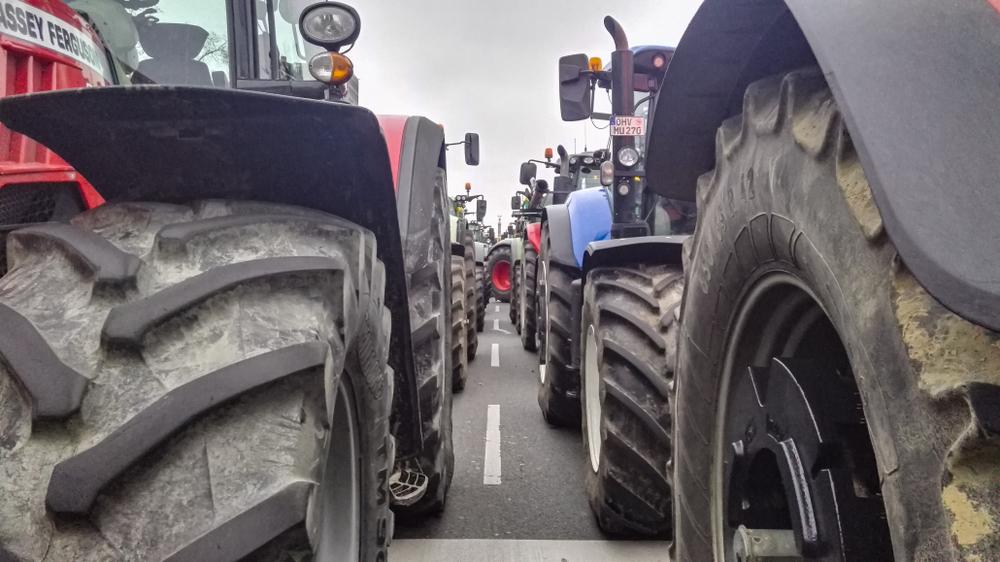 Bauerndemo in Dresden - Behinderungen durch Hunderte Traktoren drohen