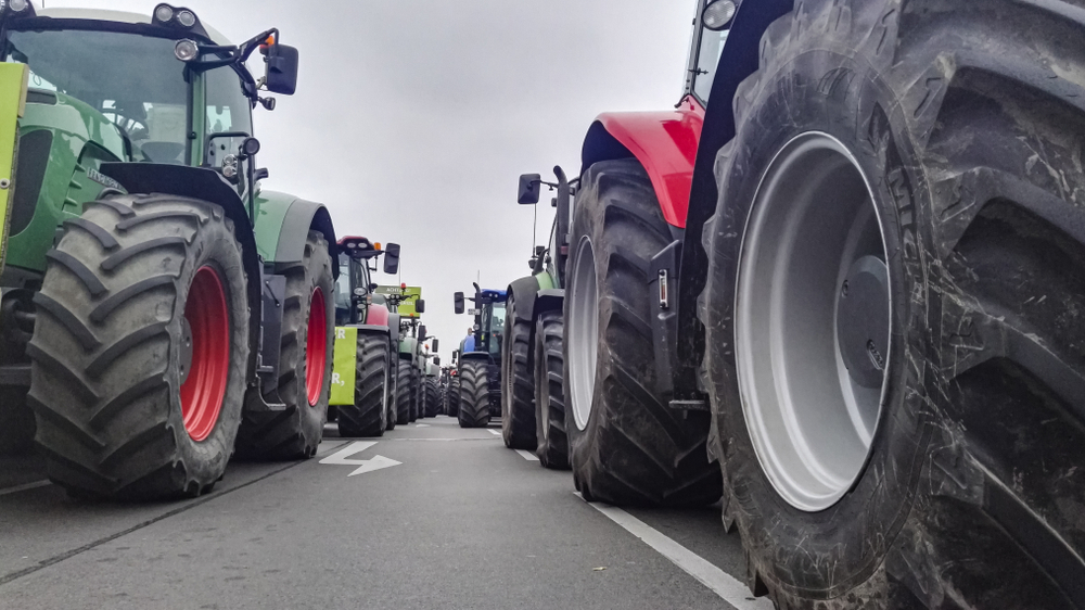 Bauern sind sauer: Mit 500 Treckern zur Demo nach Bremen