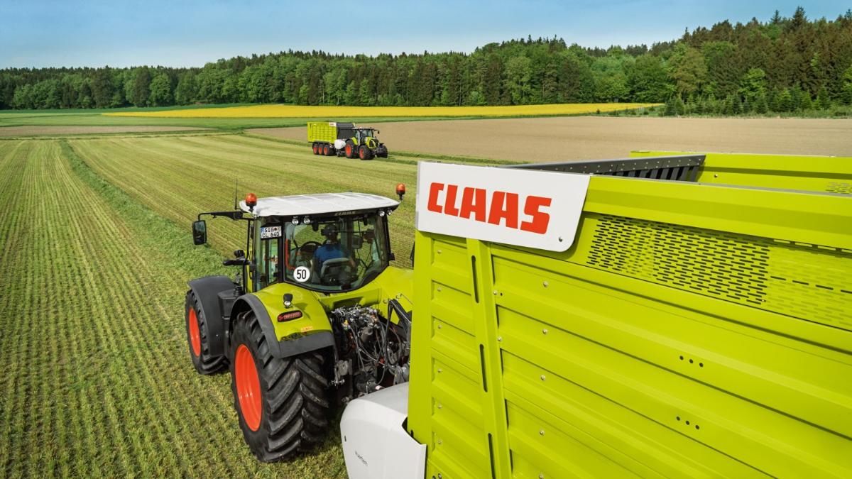 Nutzt die Chance auf den Vorführer Cargos 8400 von CLAAS