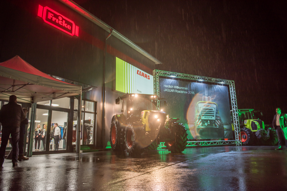 CLAAS ROAD SHOW in Verden