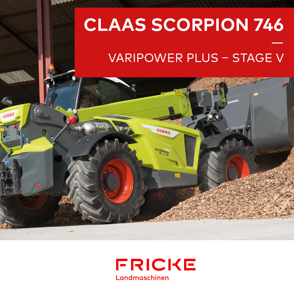 CLAAS SCORPION 746 VARIPOWER PLUS – STAGE V
