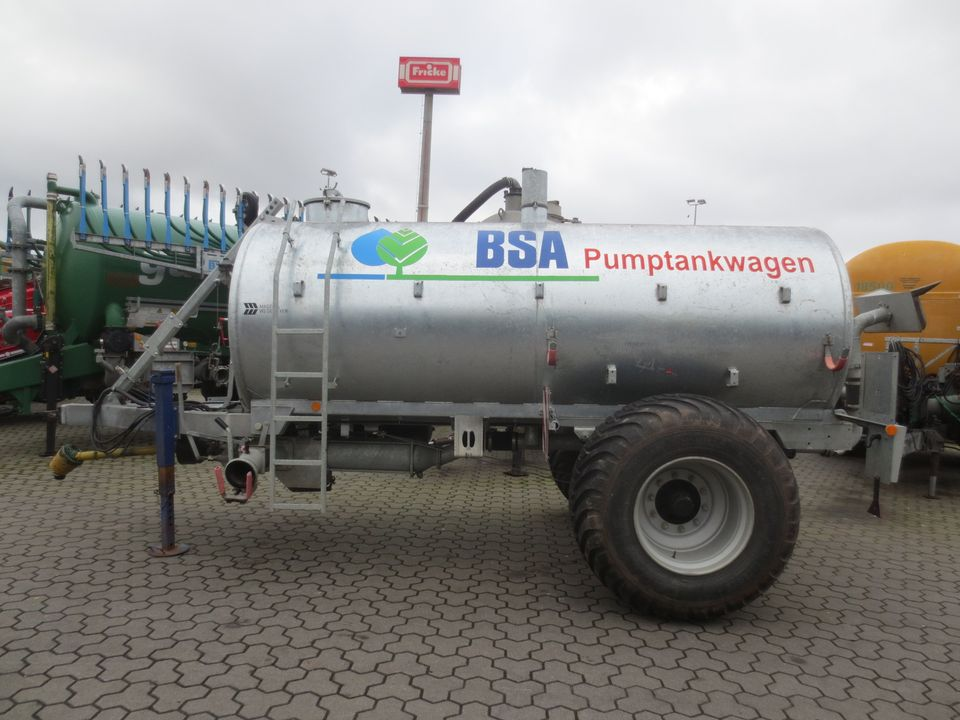 BSA PTW 8000 Pumptankwagen