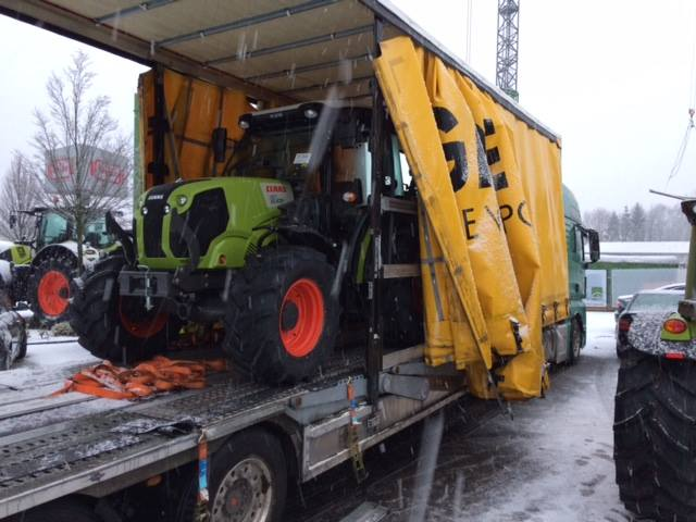 Wintereinbruch in Heeslingen