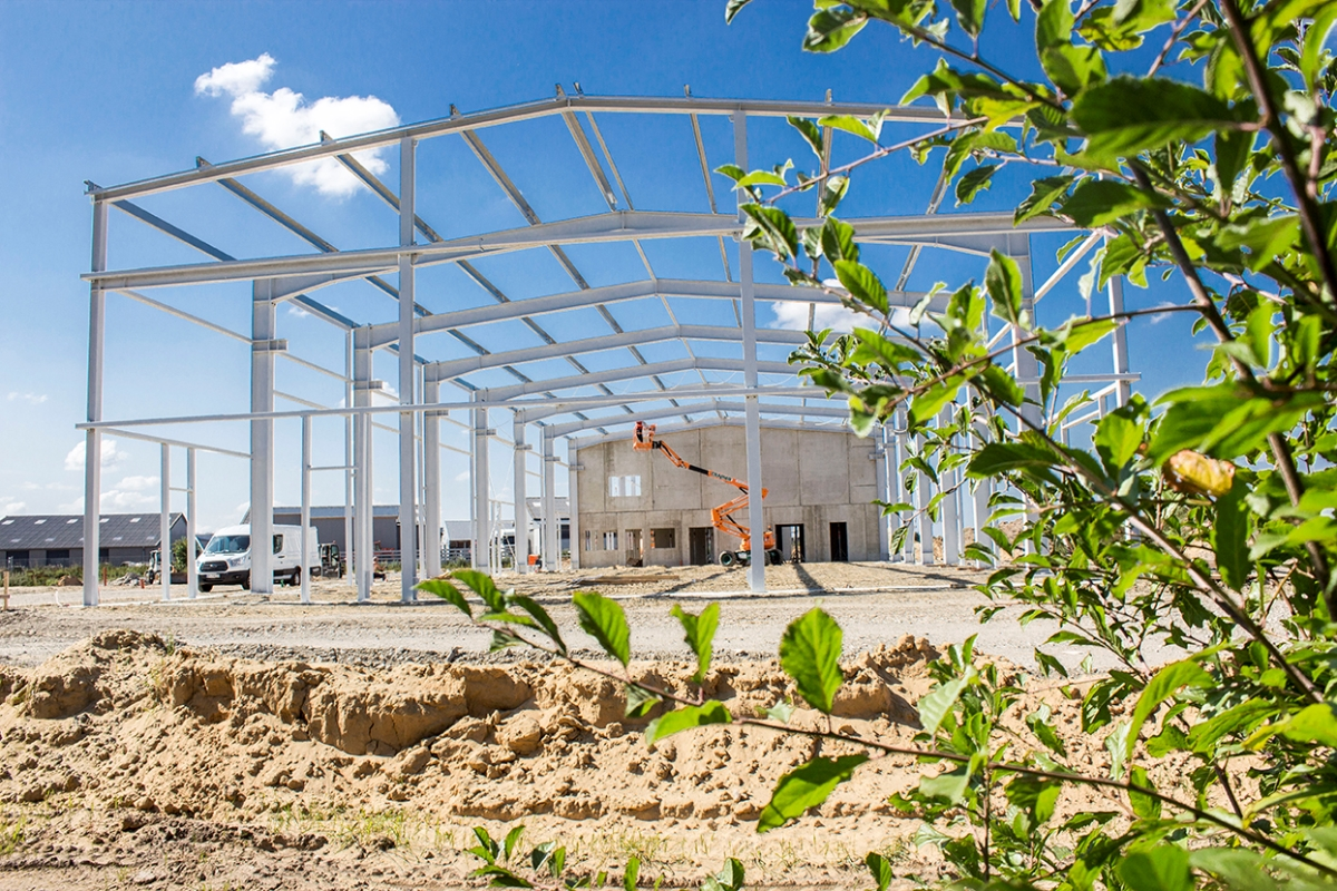 Neubau Hauptstandort Fricke Landmaschinen GmbH