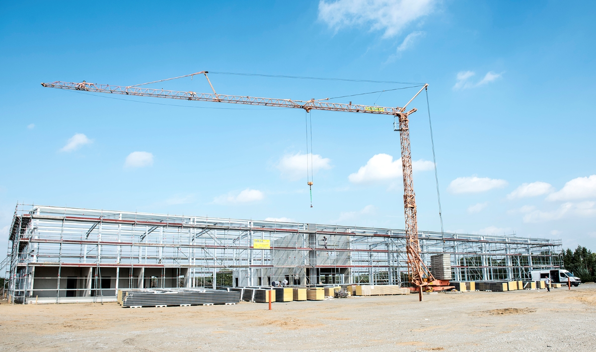 Neubau für Fricke Landmaschinen GmbH