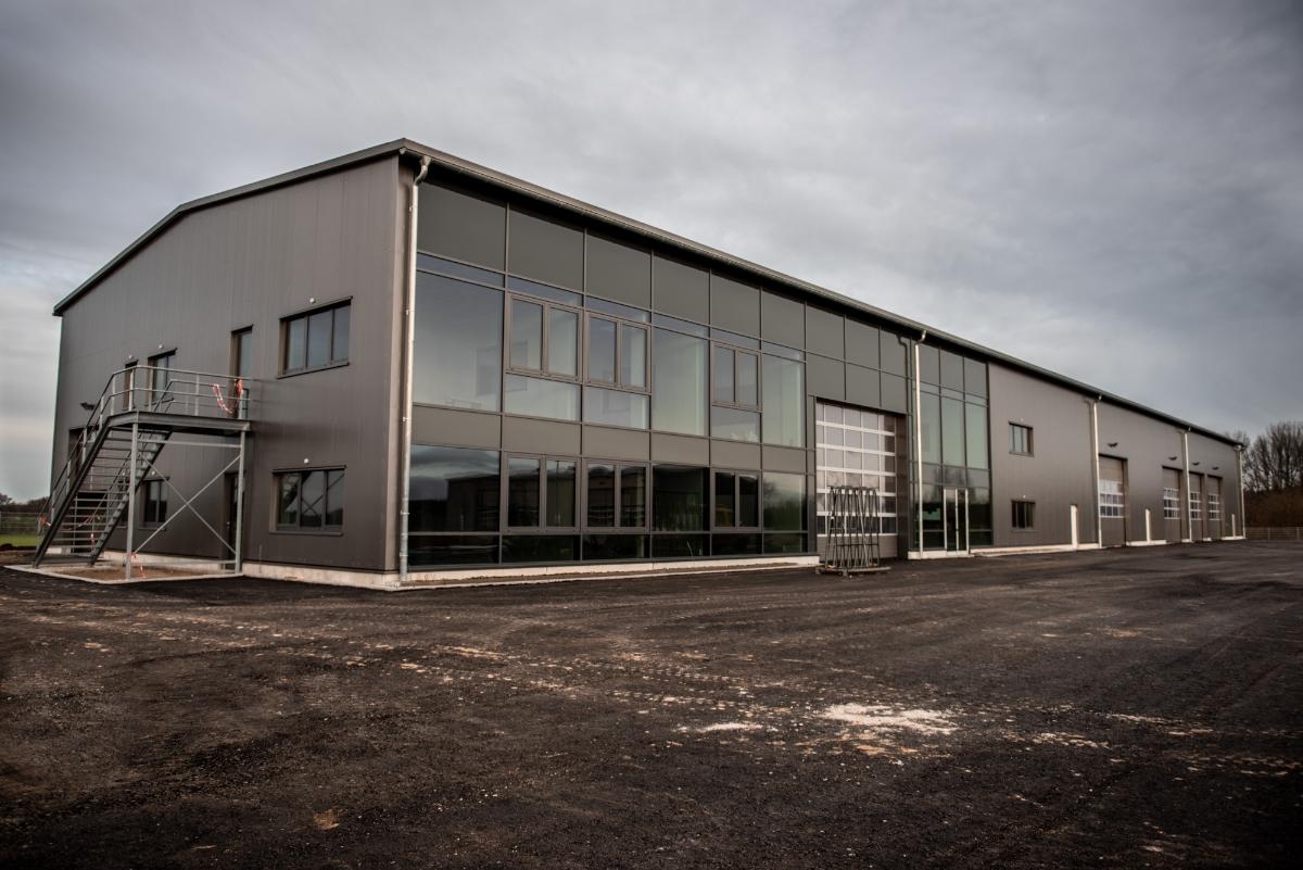 Neubau Fricke Landmaschinen GmbH, Heeslingen