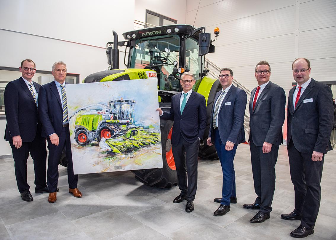 Fricke Landmaschinen eröffnet neuen Standort in Heeslingen